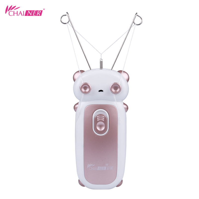 New Face Facial Epilator  Facial Hair Removal Electric Threading Machine Puller For Body Facial Cleansing Brush Deep Cleaning