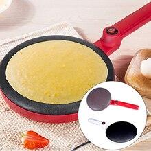 Портативная электрическая, для блинов, для изготовления блинов, машина для приготовления пиццы, антипригарная сковорода, машина для выпечки торта, кухонные инструменты с Европейским штекером