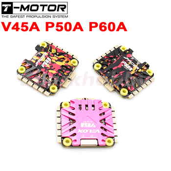1PC T-MOTOR Brand NEW 45A 50A 60A 4 in 1 ESC VELOX 45A PACER 50A/60A 6S 32BIT 10V/2A BEC Dazzling ESC for FPV RC Racing Drone