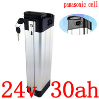 24V 배터리 24v 30ah 리튬 배터리 24V 11.6AH 14.5AH 15AH 17AH 20AH 25AH 29AH 30AH 전기 자전거 배터리 사용 panasonic 셀