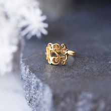 Personalized Monogram Ring Mothers Gift Fashion Custom Gold Initial Knuckle Women Jewelry Stainless Steel Anillos Mujer
