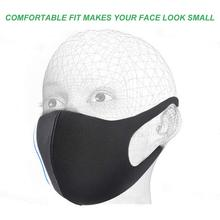 KN95 N95 3D Anti-allergic Anti Dust Mouth Mask Anti-haze Anti-fog Sponge Face Cover Outdoor Protection Washable Reusable 10pcs