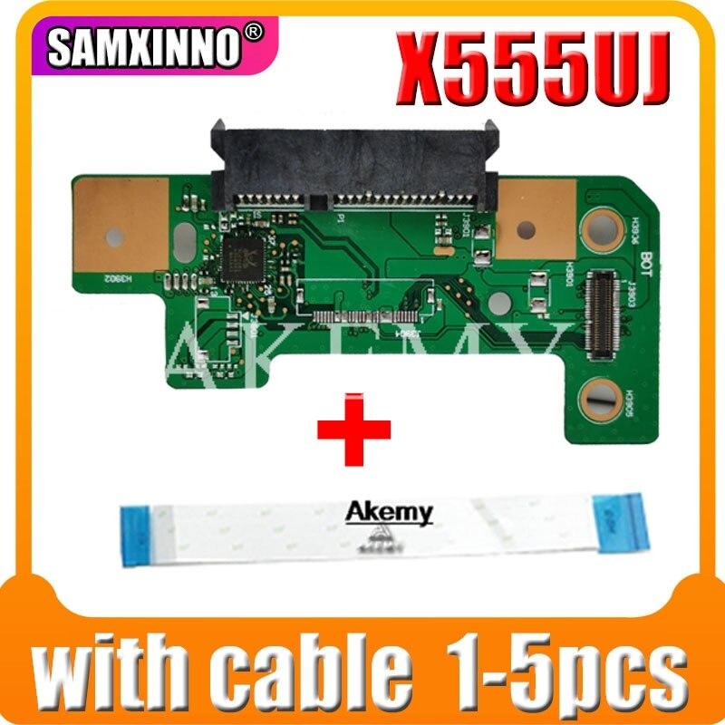 1-5pcs For Asus X555U X555UA A555U F555U K555U X555UJ Rev 2.0 HDD Board Hard Disk Drive Board 100% Tested Fast Ship