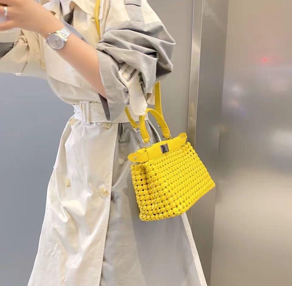 Kafunila Luxury Brand Designer Genuine Leather Women's Bag 2020 Fashion Mini Ladies Crossbody Shoulder Tote Bag Bolsa Feminina