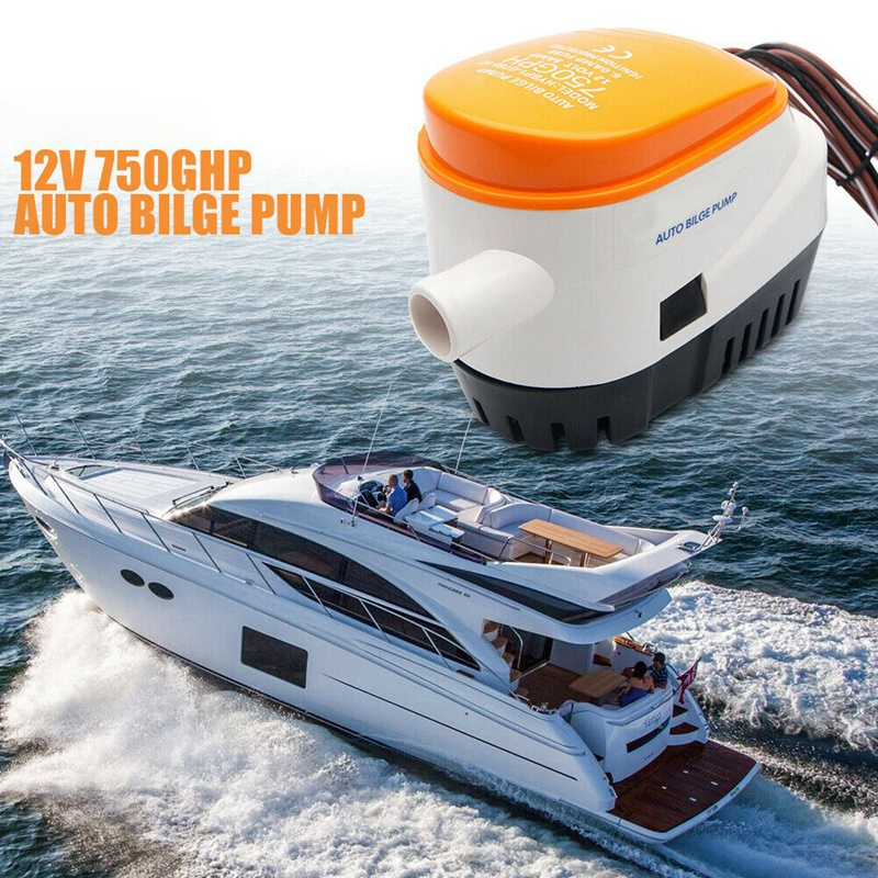 Nice 12v 750gph Automatic Submersible Boat Bilge Water Pump with Float Switch-AM