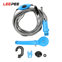 LEEPEE Cleaning Tool Car Washer DC 12V Car Washing with Cigarette Lighter Portable Car Shower Outdoor Camping Travel Shower Paint Cleaner     -