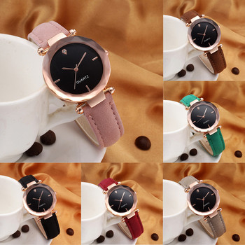 Fashion Women Wristwatch Leather Casual Watch Luxury Analog Quartz Crystal Christmas Gift Orologio Donna Montre Femme Zegarki ladies mest band bracelet watch women luxury watch women fashion casual quartz watch analog lady woman wristwatch orologi donna