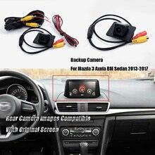 Reverse Parking For Mazda 3 Axela BM Sedan 2013-2017 6V CCD Night Vision Waterproof Car Rear View Camera Car Accessories