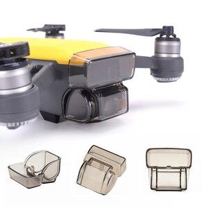 Image 2 - Аксессуары для DJI Spark, пульт дистанционного управления, джойстик + крышка объектива + солнцезащитный козырек + пропеллер + Защитная опора для DJI Spark Drone