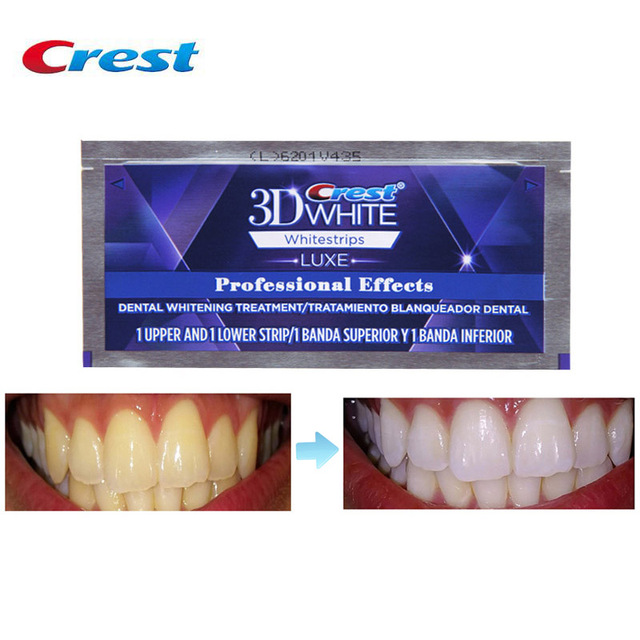 3D White Whitestrips Professional Effects Teeth Whitening Strip Last 12 Monthes Teeth Whitening Dental Whiter Vip Drop Shopping