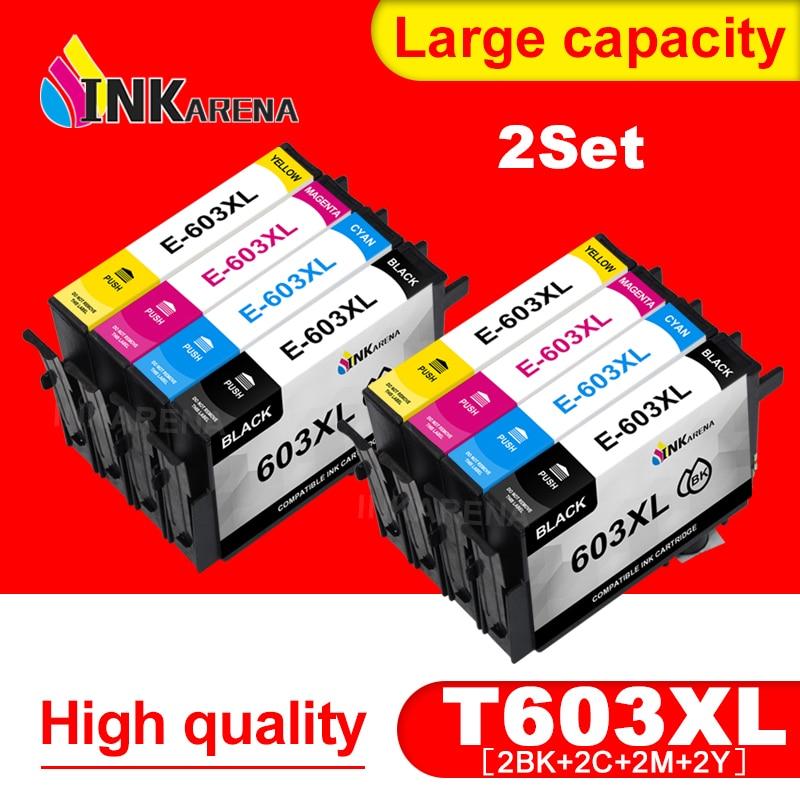 T603 xl T603XL Ink Cartridge Compatible for Epson 603 XL Printer XP-4100 XP-4105 XP-3105 WorkForce 2810DWF 2850DWF 2835DWF