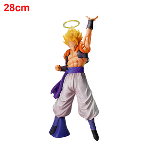 Image 3 - 28cm Dragon Ball Super Gogeta Action Figure Super Saiyan Goku Vegeta Figurine Dragon Ball Z Gogeta PVC Model Toy