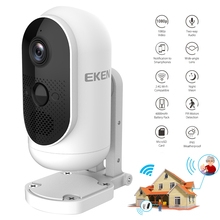 Ip-Camera Outdoor EKEN Battery-Powered Wifi Security Full-Hd 1080P Argus Angle 140 Wide-View