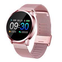 New Q8 Bluetooth Smart Watch Stainless Steel Waterproof Wearable Device Smartwat