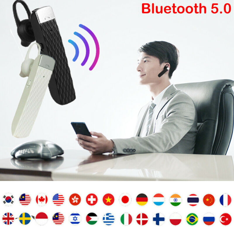 33 Languages Smart Translator Instant Voice Speech Translation Interpreter Real-time Earhook Translators For Travel Meeting