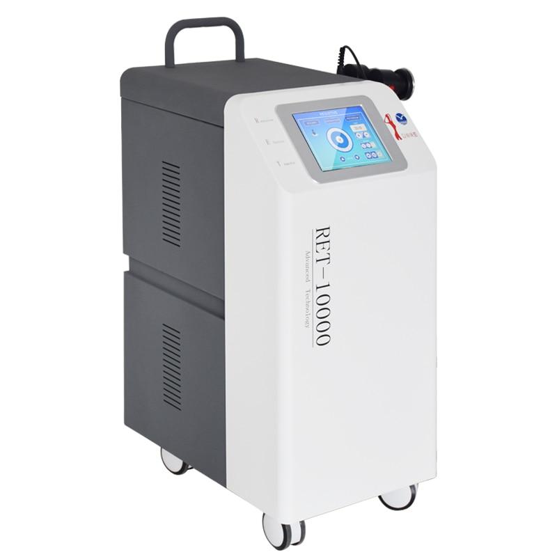 Profesjonalne cet ret-10000 monopolarne urządzenie działające na częstotliwości radiowej do redukcji tłuszczu napinanie skóry