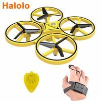 ZF04 RC Drone Mini Infrarot Induktion Hand Steuer Drohne Höhe Halten 2 Controller Quadcopter für Kinder Spielzeug Geschenk