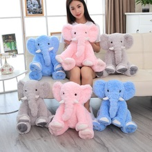 Hot New 1pc 50cm Cute Infant Plush Toy Soft Appease Elephant Playmate Calm Doll Baby Toy Elephant Pillow Plush Toys Stuffed Doll new lovely plush gray elephant toy creative elephant doll boyfriend pillow doll about 120cm