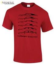 2019 New Cotton Tee Shirt 1966 Dodge Charger Evolution T-Shirt Classic B L Body SRT8 HEMI R/T HellCat Fashion T-shirt