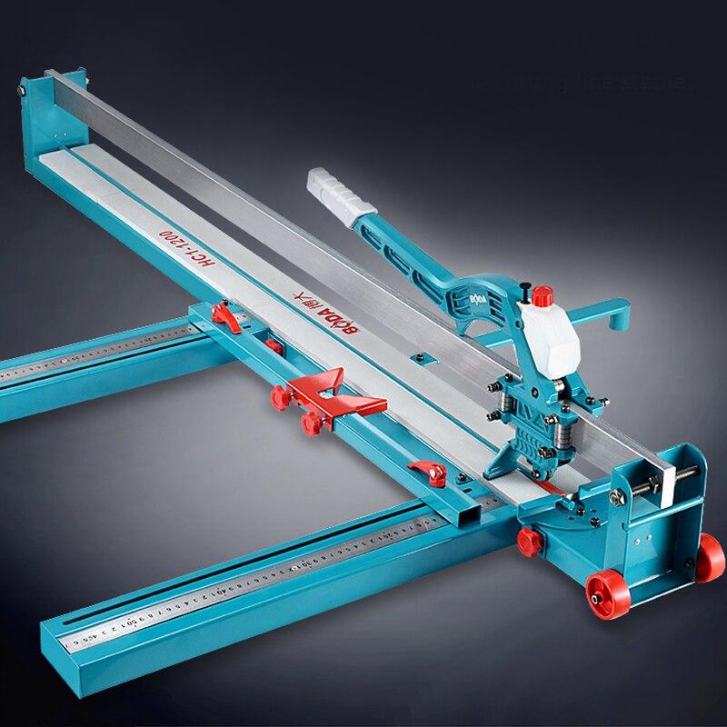 전문 레이저 적외선 수동 타일 커터 커팅 머신 800 1000 타일 바닥 벽 세라믹 커팅 나이프에 대한 푸시 나이프
