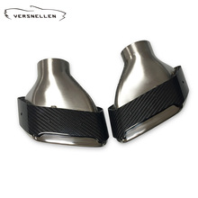 MP Top Quality New Arrival Carbon Fiber Exhaust Tip Car Pipe Muffler For BMW G30 5-Series 2018 2019 Accessories