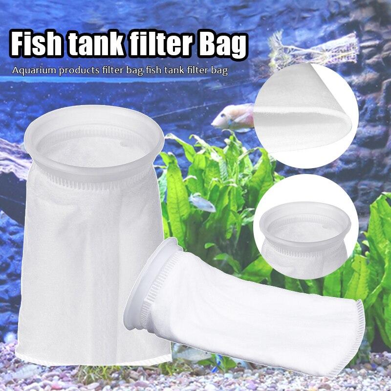 6 шт 100/150/200 микрон фильтр носок 105X230mm аквариумных рыб морской приемный фетровые фильтр носок мешок высокая плотность Interspace