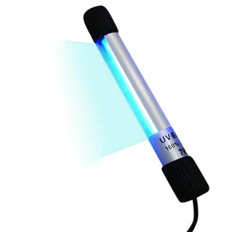5W/7W/9W/11W/13W Aquarium UV Sterilizer Ultraviolet Algae Removal Disinfection Tube Light Fish Tank UV Lamp EU/US/UK Plug