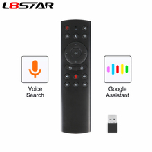 L8star G20 G20BTS G20SPRo 2.4G Air Mouse Remote Control For Smart Android TV Box Computer PC Laptop Wireless Rf H96 X99 Max A5x