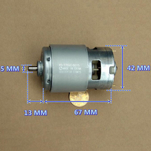 Japan MABUCHI RS-775VC-8015 Motor 208W High Power Large Torque DC 12V 18V 18200RPM High Speed for Electric Drill
