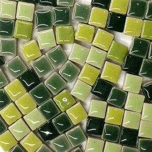 100 г для поделок, керамические мозаичная стеклянная плитка, зеркало, украшения ручной работы, плитка, настенные изделия, красочный кристалл ...
