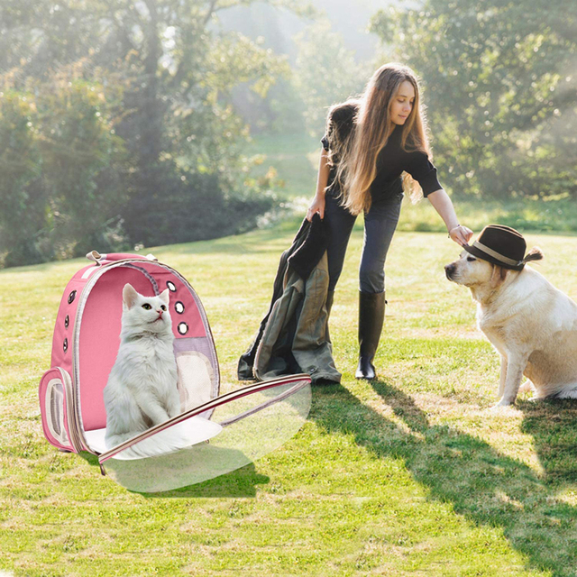 Portable Breathable Cozy Backpack Pet Carrier  6