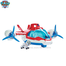 Paw patrol Cartoon Air machine dog rescue aircraft aerial puppy Wangwang stand up toy