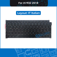 New A1932 Keyboard IT Italian Layout For Macbook Air 13.3″ Late 2018 Italy Keyboard Replacement MRE82