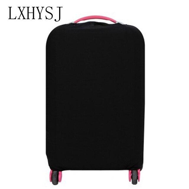 Сплошной цвет Дорожный чемодан пылезащитный чехол для багажа 18-30 дюймов Чехол для тележки пылезащитный чехол Аксессуары для путешествий
