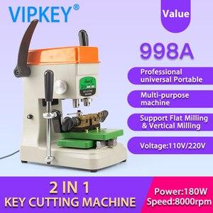 Image 5 - 998A hohe professionelle universal Tragbare Flache Vertikale schlüssel schneiden maschine schlosser werkzeuge duplizieren schlüssel kopie maschine