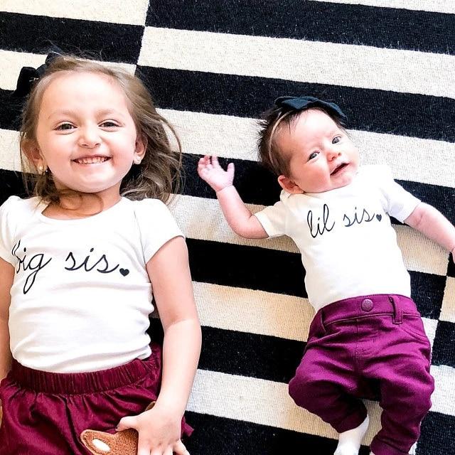 Sibling Shirts Sister Tee Toddler Sister Shirt Big Sis Sweatshirt Big Sis Shirt Big Sister Shirt Big Sister Gift