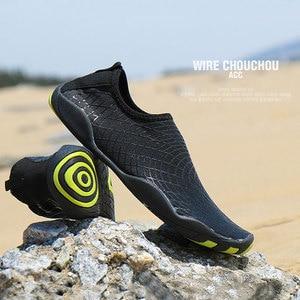 Image 4 - שכשוך שחייה נעליים בחוץ במעלה הזרם חוף נעליים קל משקל רך לנשימה neoprene צלילה נעלי לנשים גברים מים ספורט