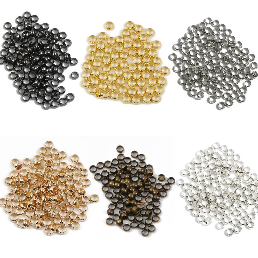 100-500 шт./лот ювелирные изделия и компоненты шариковый Плунжер металлический аксессуар гладкие шарики