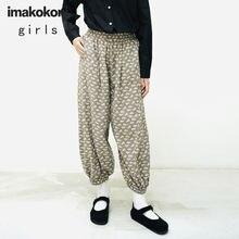 Оригинальные повседневные брюки imakokoni с принтом женские