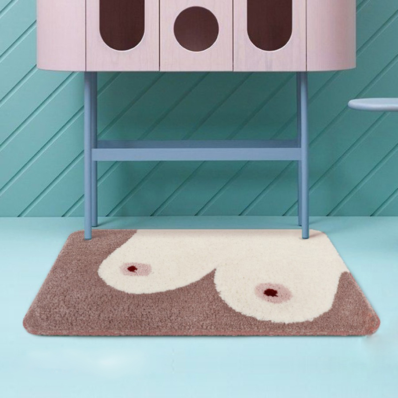 Bathroom Funny Rug Interesting Kitchen Carpet Tappeto Cucina Tapis Function Blanket Floor Mat Rugs For Bedroom 50x80cm