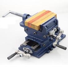цена на Cross vise 3 inch bench drill milling machine vise vise work table cross pliers