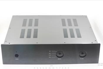 A28 - A series preamplifier chassis without logo Preamp case