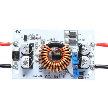 500W 10A DC-DC Step Up Boost Converter Constant Current 8.5-48V to 10-50V Car Power Supply LED Driver Charger Booster Module image