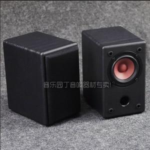 Image 5 - KYYSLB 10 20W 4 8 Ohm 3 pouces gamme complète haut parleur Hifi AS 3Q 1 3 pouces amplificateur de puissance haut parleur passif Grain de bois noir une paire