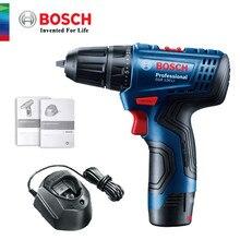 Orijinal Bosch el elektrikli matkap GSR120-LI 12V şarj edilebilir akülü çok fonksiyonlu ev DIY elektrikli tornavida güç aracı