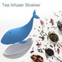 1Pcs Silicone Whale shape Tea Bag Tea Filter Tea Infuser Cute Tea Strainer Filter Diffuser For Tea Coffee Spices|Teesiebe|Heim und Garten -