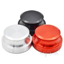 TOCADISCOS de discos estabilizador de peso LP abrazadera de vinilo negro/Embalaje de lujo