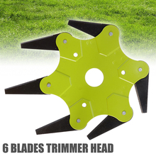 1pc Green Manganese Steel Blades Grass Trimmer Head For Lawn Mower Brush Cutter Tool Accessories 65Mn