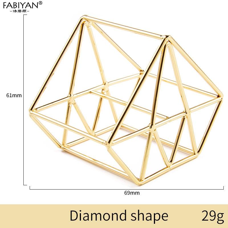 Gold Diamond Shape