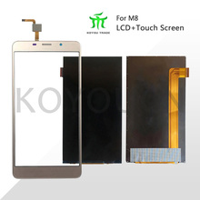Black/Gold For Leagoo M8 LCD Display+Touch Screen Digitizer Repair Parts for Leagoo M8 Pro LCD Screen Glass Panel Sensor+Tools недорого
